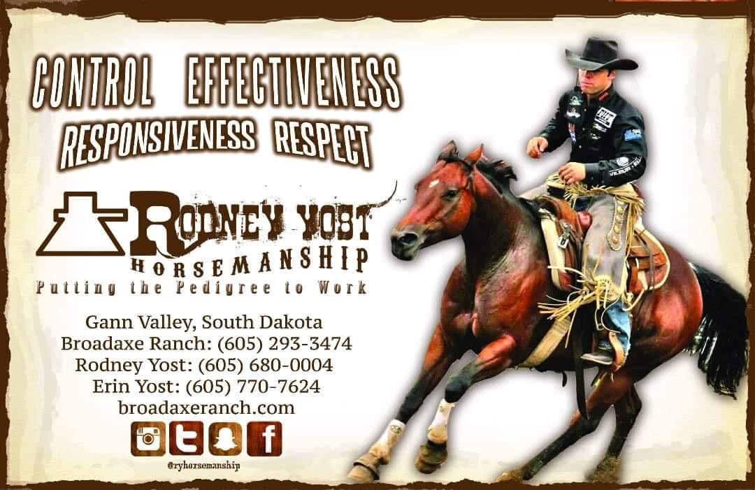 RODNEY YOST HORSEMANSHIP